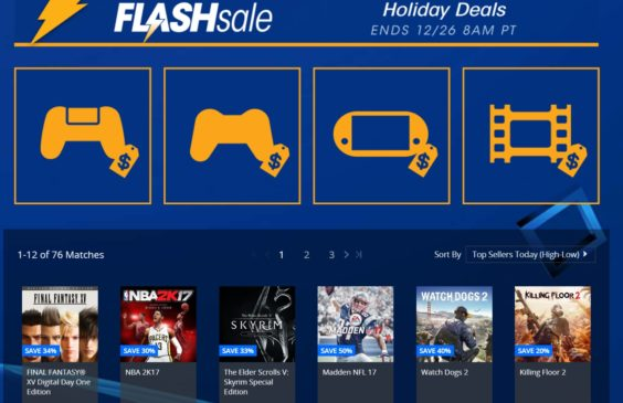 PS4 flash sale on PSN September 2019 - get discounts now - USA-1