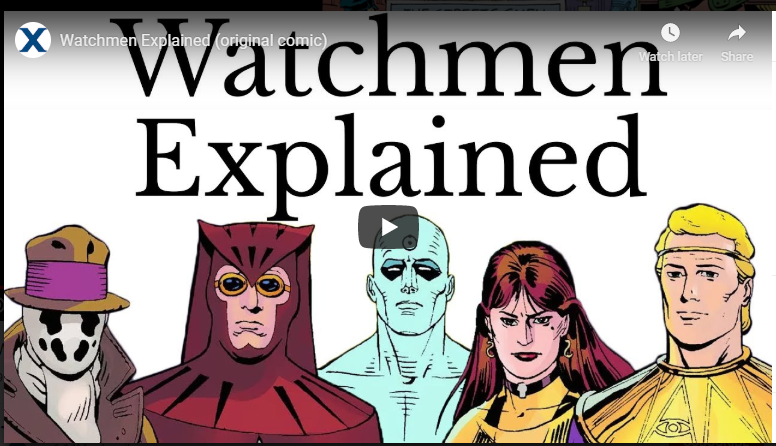 watchmen movie explained - HBO blockbuster series