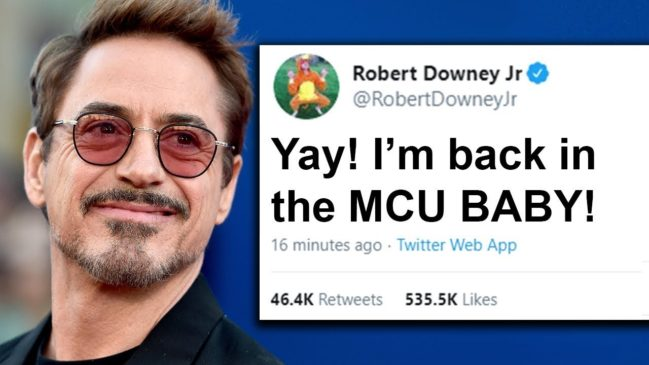 Iron Man Could Still Return In The MCU - Robert Downey Jr. Says