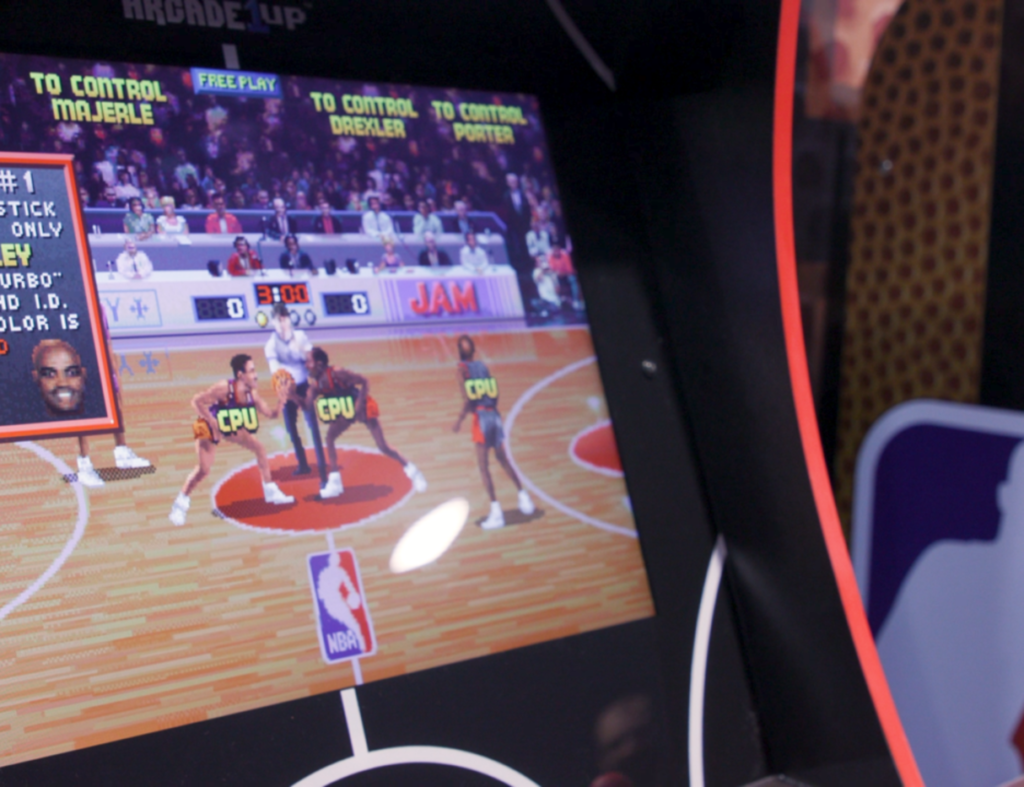 Arcade1Up's NBA Jam Cabinet With Online Multiplayer Available For Pre-Order Play