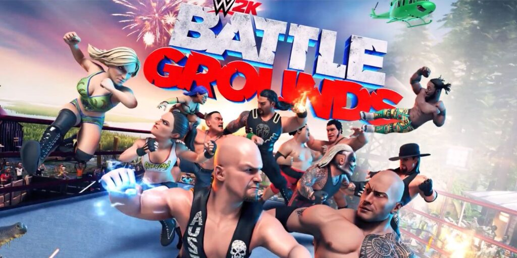 WWE 2K Battlegrounds Wants To Put Fun Back In Wrestling