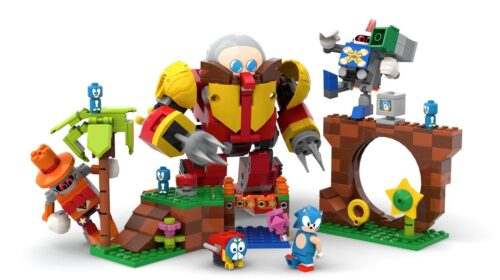A Sonic The Hedgehog Lego Set Is Speeding Into Production