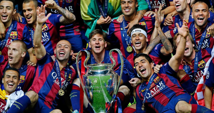 Barcelona named best club of decade
