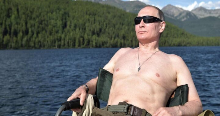President Vladimir Putin named Russia's sexiest man alive